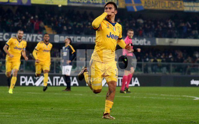 Doblete de Dybala para otra victoria de Juventus