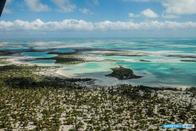 Los 5 mil habitantes de una isla, primeros en recibir el 2018