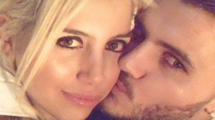 El fogoso festejo de Año Nuevo de Wanda y Mauro