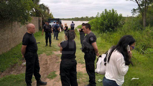 Hallaron flotando el cadáver de una persona en aguas del río Coronda a la altura de Sauce Viejo