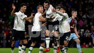 Liverpool alcanzó su tercer triunfo en fila sobre la hora