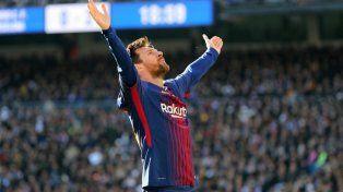 Más elogios para Messi en el inicio de 2018