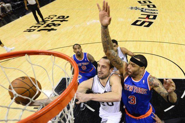 Ginóbili y los Spurs arrancan el año visitando a los Knicks