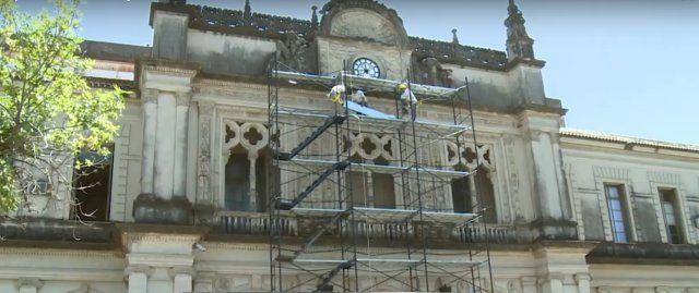 UNL: comienza la tarea de restauración del edificio del Rectorado