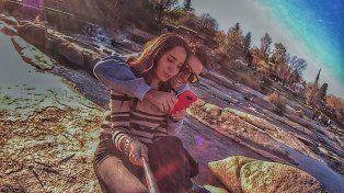 Foto de Ailén Soto y su novio Yoel Airaldi.