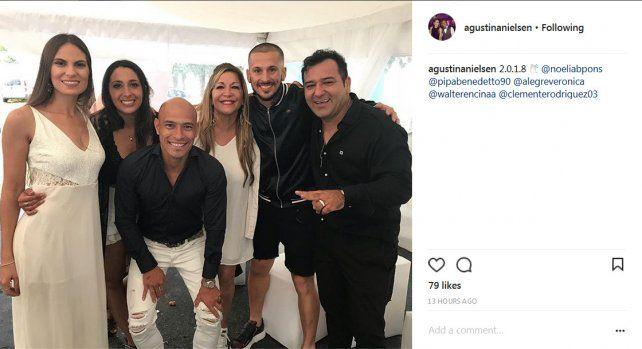 Así recibieron el 2018 los jugadores de Colón y Unión
