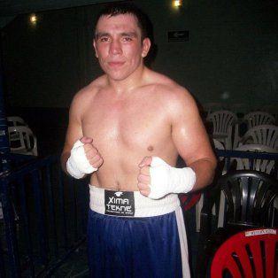 Otro tiempo. Solís en una foto publicada por el sitio boxrec.com, donde está sintetizada su carrera.