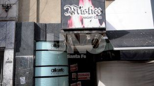 Fue cerrado. El bar whiskería funcionaba en San Martín al 2700