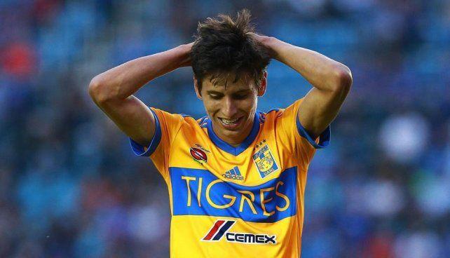 Así le quedó la cara a un jugador mexicano que se accidentó con pirotecnia