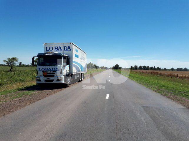 Un ciclista murió arrollado por un camión cerca de la ciudad de Ceres