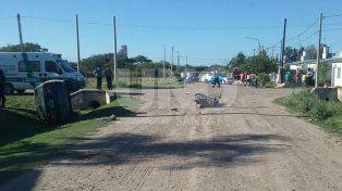 Falleció un motociclista que agonizó durante una semana en el Cullen