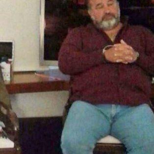 En su estancia. Balcedo, al momento de ser detenido en Uruguay