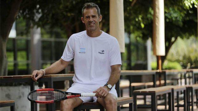 Daniel Orsanic seguirá siendo el capitán argentino de Copa Davis