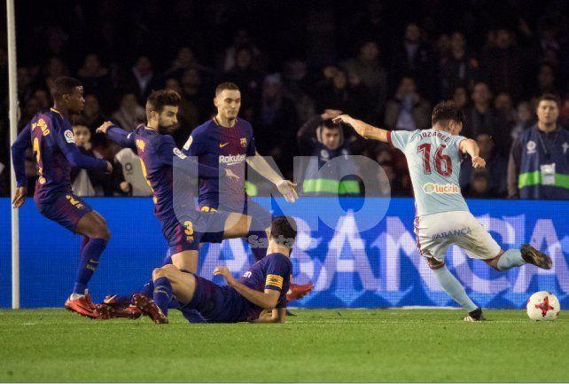 Pobre empate entre Barcelona y Celta por la Copa del Rey