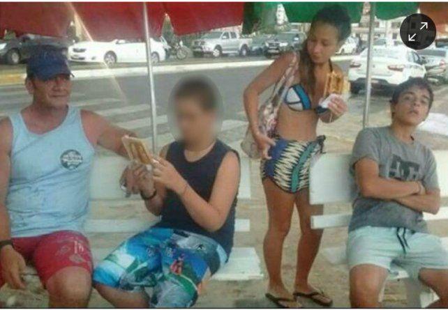 Caso Nahir Galarza: una foto comprueba la relación de Fernando Pastorizzo con la familia de la joven