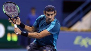 Guido Pella se despidió del ATP 250 de Doha