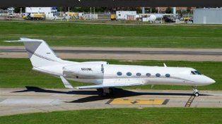 El avión de Marcelo Balcedo.