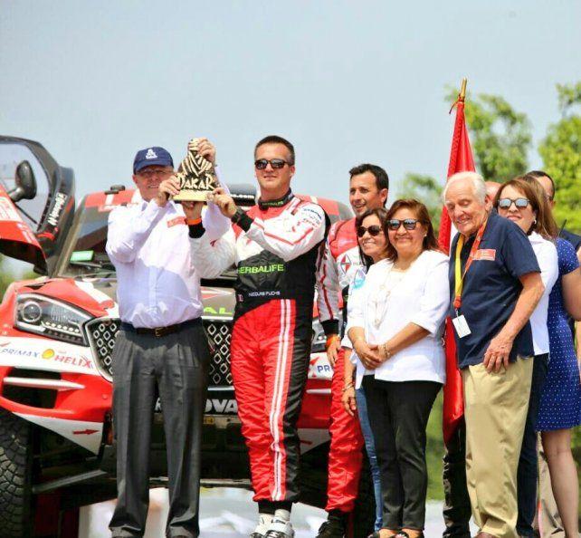 El presidente peruano le dio inicio al Rally Dakar 2018
