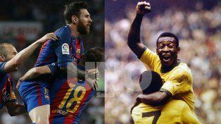 Tiembla Pelé: ante Levante, Lionel Messi llegó a los 1.000 goles