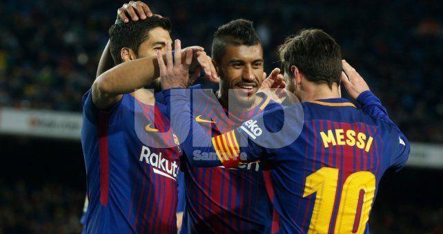 Barcelona arrancó el 2018 con una goleada