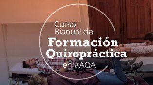 curso bianual de formacion en quiropraxia ciclo 2018-2019