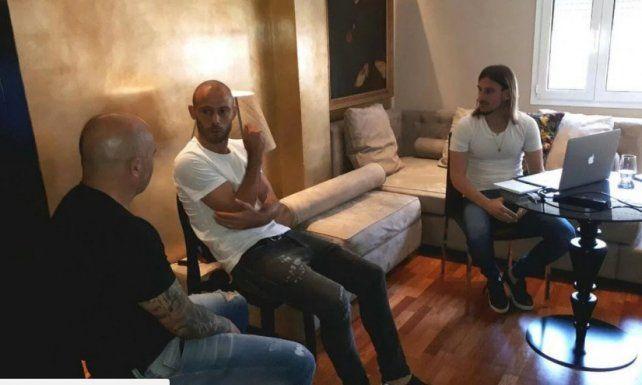 Sampaoli se reunió con Mascherano