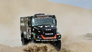 Gran tarea de los argentinos en la tercera etapa del Dakar 2018