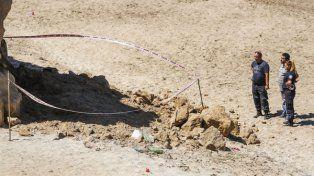 Una nena de 3 años murió por el desprendimiento de un barranco en Mar del Plata