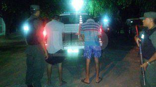 Arrestaron a dos delincuentes que intentaron asaltar a un taxista
