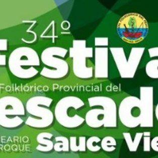 ya se palpita  la 34ª edicion del festival del pescador en sauce viejo