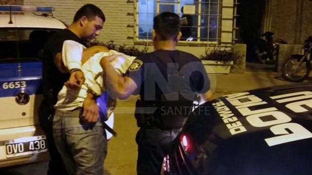 Arrestaron a un hombre que amenazó a su exmujer con matar a su hija de dos años