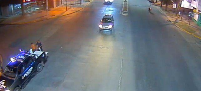Captura de pantalla. Imágenes de video realizadas por el Ministerio de Seguridad de Santa Fe