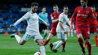 Real Madrid empató con Numancia, pero pasó de ronda