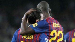 La confesión de Eric Abidal sobre Messi