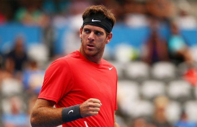 Delpo ya tiene rival para su debut en el Australia Open
