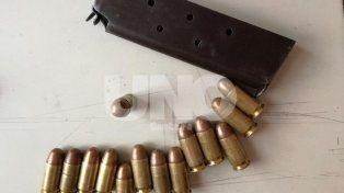 Cayó preso un violento tiratiros con un arma cargada con balas de guerra