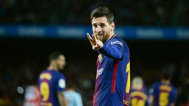Copa del Rey: Barcelona goleó con un doblete de Messi
