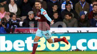 Lanzini la rompió en la victoria de West Ham