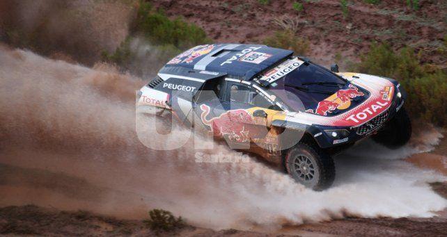 Carlos Sainz se llevó la 7ª etapa del Rally Dakar en autos