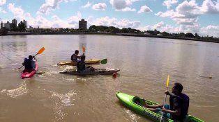 Se viene una jornada de Kayak y Running en la Costanera Oeste