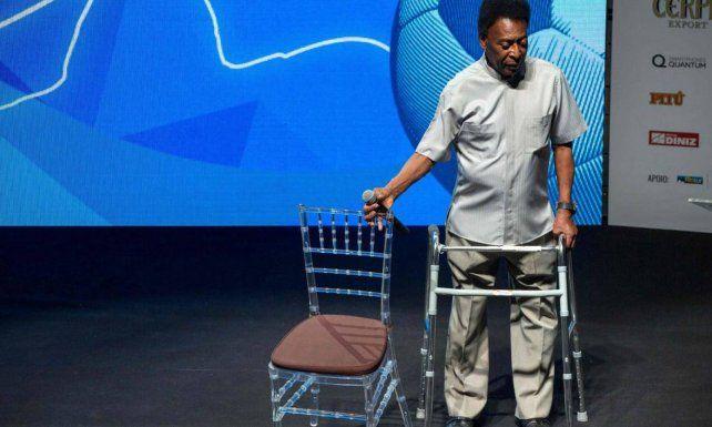El difícil momento por el que atraviesa Pelé