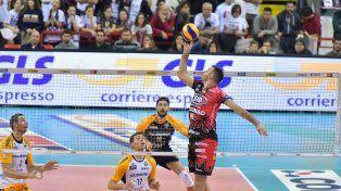 Luciano De Cecco sigue siendo vital para un imparable Perugia