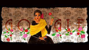 Google homenajea a la actriz que conquistó a Marlon Brando