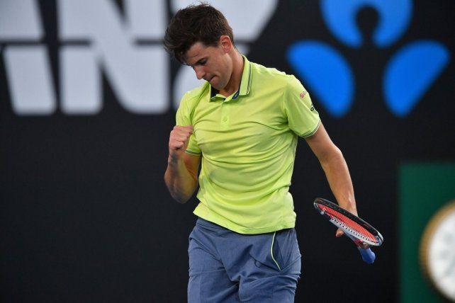 Guido Pella perdió con Dominic Thiem y se despidió del Australia Open