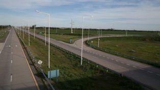 Ante la falta de pago, una cooperativa de luz dejará a oscuras tres rotondas de la ruta 19