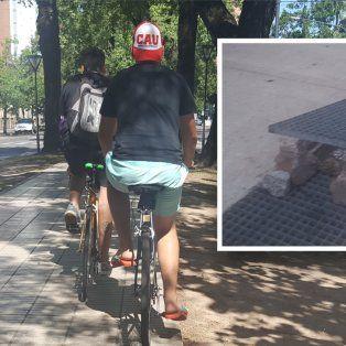 Malos usos del espacio público. Fotos de lectores en la que se ve lo que sucede en el Paseo Bulevar y en El Molino.