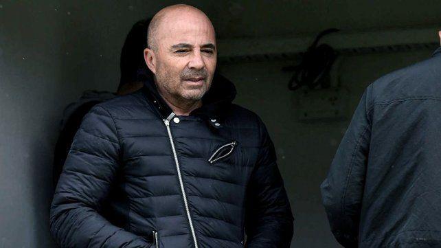Sampaoli visitó la práctica de Manchester City