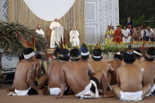 Una santafesina relata el paso del Papa por Perú