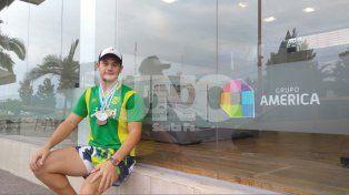 Santiago Theuler, el nadador que sorprendió en el Campeonato de la República