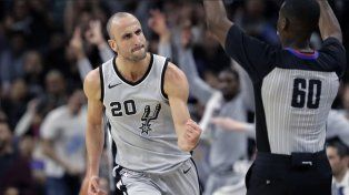 ¿Cuándo empieza a jugar Ginóbili con San Antonio los playoffs de la NBA?